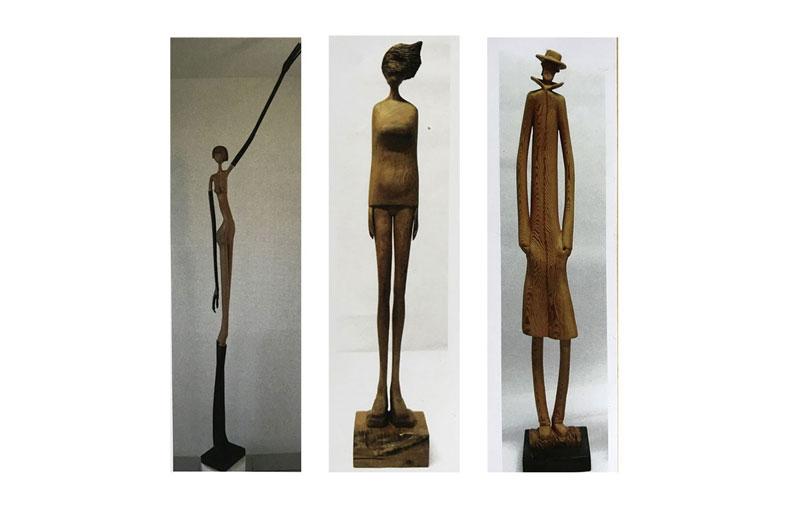 Mostra sculture Mario Di Felice